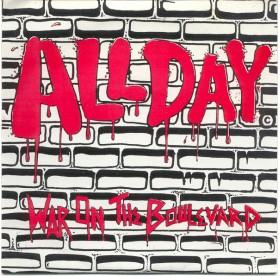 All Day - War On The Boulevard 7""
